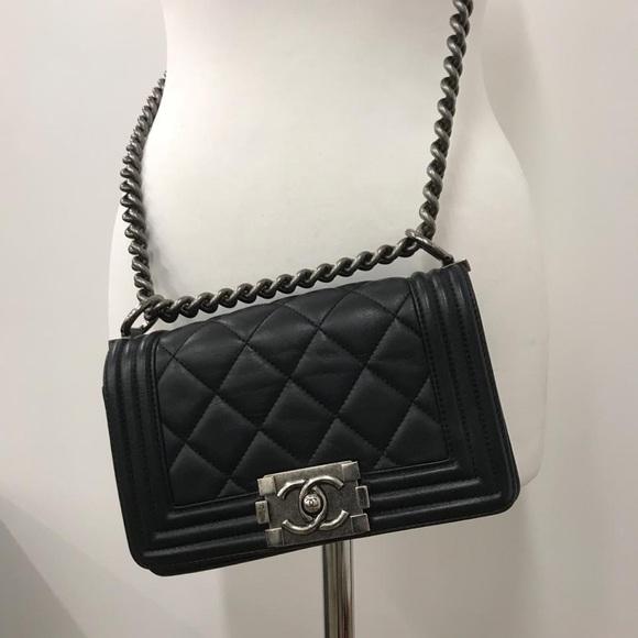 53e286c7eadd CHANEL Handbags - Chanel Small Le Boy Bag Lambskin.PRICE IS FIRM❌